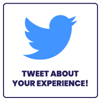 Tweet About Your Experience!