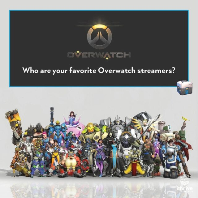 Tell us below, who are your favorite #Overwatch streamers? ⠀ .⠀ .⠀ .⠀ .⠀ .⠀ #stream #twitch #twitchers #gaming #overwatchmemes #overwatchedit #overwatchcosplay #overwatchgame #overwatchfanart #overwatchart #overwatchleague #overwatchdva #overwatchmeme #overwatchmercy #overwatchplays #overwatchfunny #overwatchclips #overwatchedits #overwatchhighlights #overwatch2
