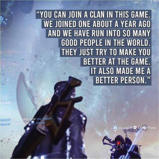 Clans. Guilds. Legions. Teams. Each of these in-game features invite video game players to bond, progress, and build with others in a tight-knit community. ⠀ ⠀ Reflecting on their experience playing #Bungie's Destiny 2 during quarantine, one teen shares how membership in an in-game clan helped nurture his real-life friendships at a time of #socialdistancing and *serious* change. Check out the link in our bio! 